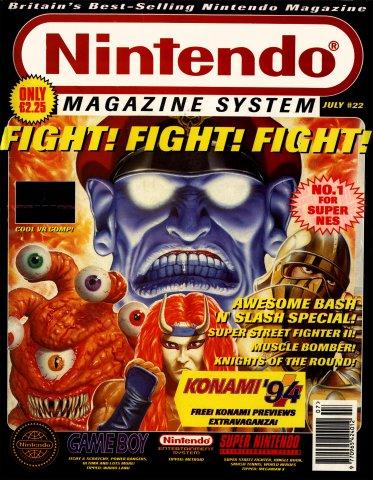 Nintendo Magazine System 022 (July 1994)