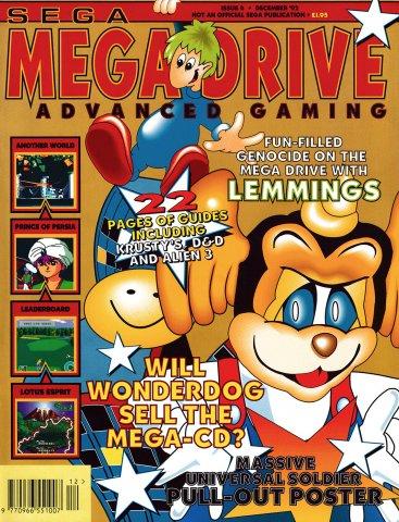 Mega Drive Advanced Gaming 04 (December 1992)