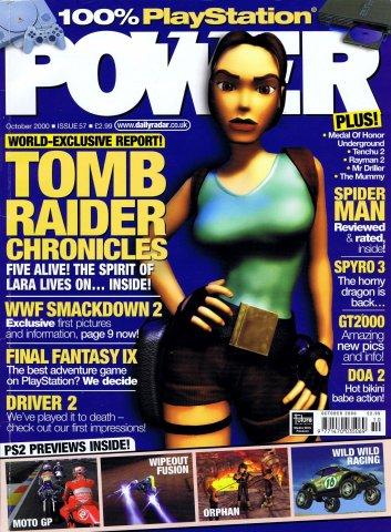 PlayStation Power Issue 57 (October 2000)