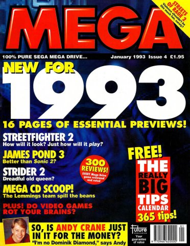 MEGA Issue 04 (January 1993)