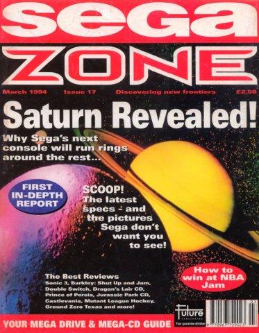 Sega Zone Issue 17 (March 1994)