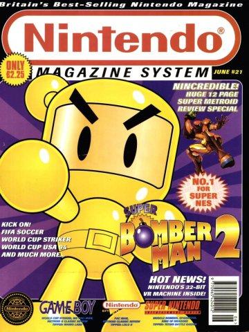 Nintendo Magazine System 021 (June 1994)