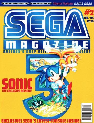 Sega Magazine 02 (February 1994)