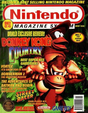 Nintendo Magazine System 026 (November 1994)