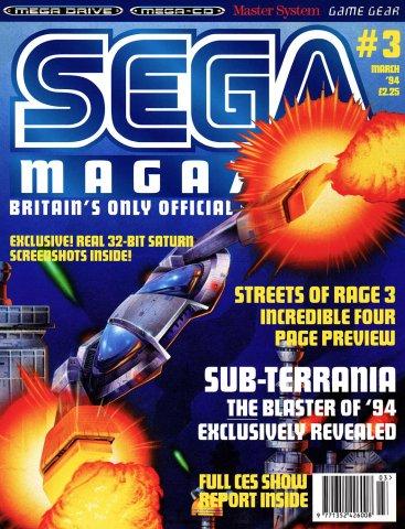 Sega Magazine 03 (March 1994)