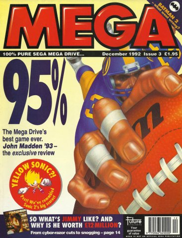 MEGA Issue 03 (December 1992)