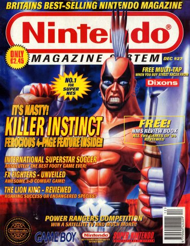 Nintendo Magazine System 027 (December 1994)