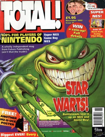 Total! Issue 11 (November 1992)
