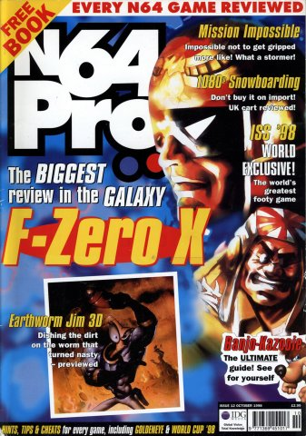 N64 Pro Issue 12 (October 1998)