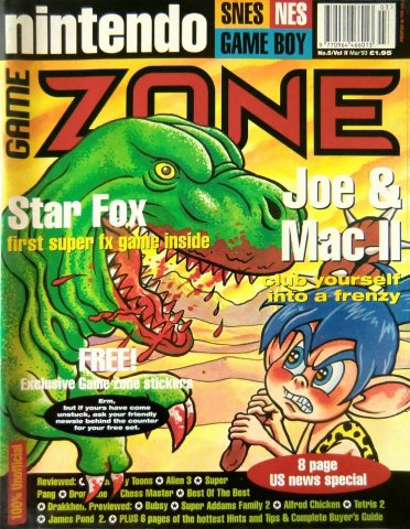 Nintendo Game Zone Issue 05 (March 1993)