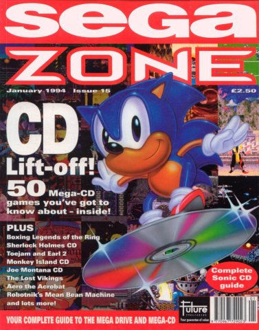 Sega Zone Issue 15 (January 1994)