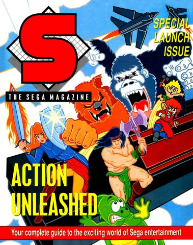 S: The Sega Magazine 01 (October 1989)