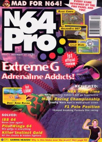 N64 Pro Issue 01 (December 1997)