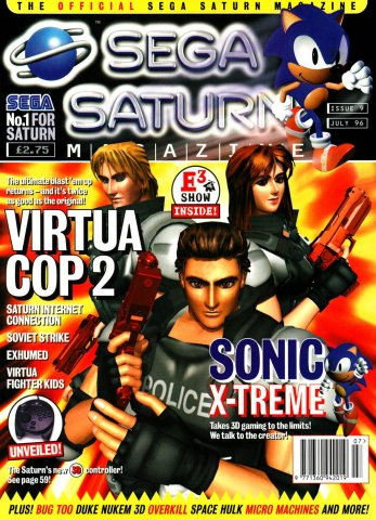 Official Sega Saturn Magazine 09 (July 1996)