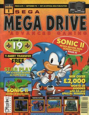 Mega Drive Advanced Gaming 01 (September 1992)