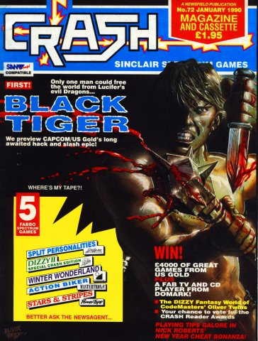 Crash Magazine 72 (January 1990)
