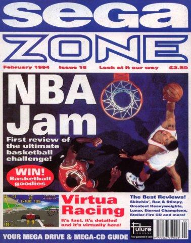 Sega Zone Issue 16 (February 1994)