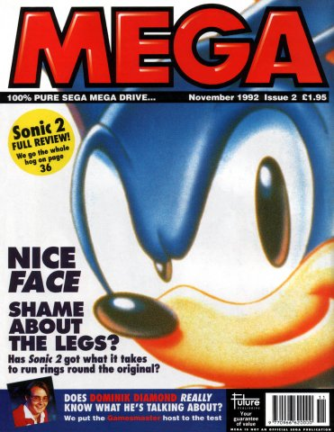 MEGA Issue 02 (November 1992)