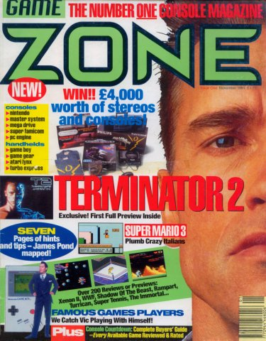 Game Zone Issue 01 (November 1991)