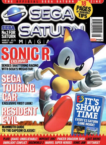 Official Sega Saturn Magazine 22 (August 1997)