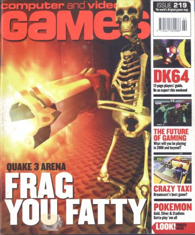 Computer & Video Games Issue 219