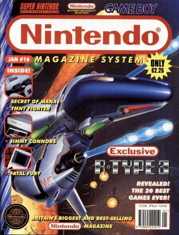 Nintendo Magazine System 016 (January 1994)