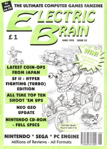 Electric Brain Issue 35 (June 1993)