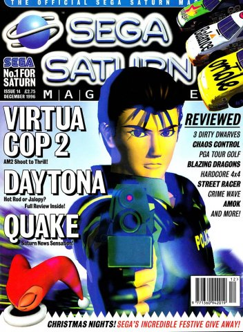 Official Sega Saturn Magazine 14 (December 1996)