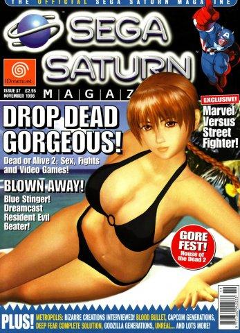 Official Sega Saturn Magazine 37 (November 1998)