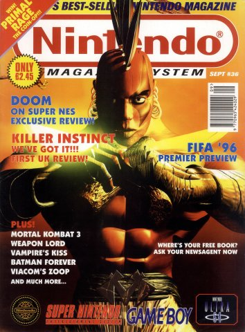 Nintendo Magazine System 036 (September 1995)