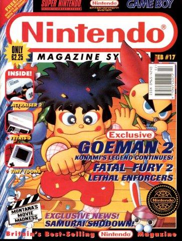 Nintendo Magazine System 017 (February 1994)