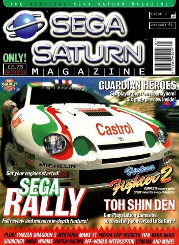 Official Sega Saturn Magazine 03 (January 1996)