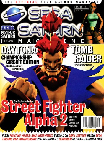 Official Sega Saturn Magazine 13 (November 1996)