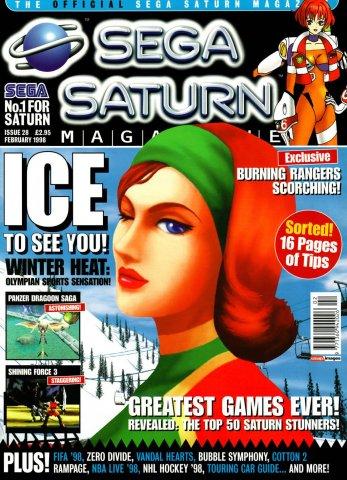 Official Sega Saturn Magazine 28 (February 1998)