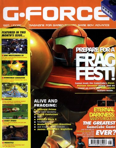 G-Force Issue 04 (August 2002)