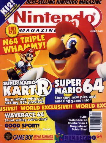 Nintendo Magazine System 045 (June 1996)