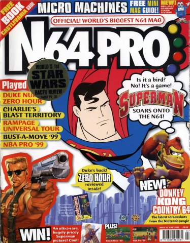 N64 Pro Issue 22 (June 1999)