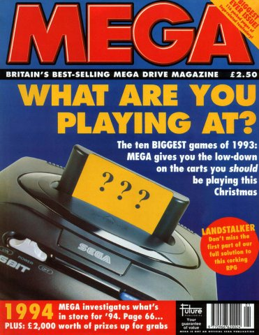 MEGA Issue 16 (January 1994)