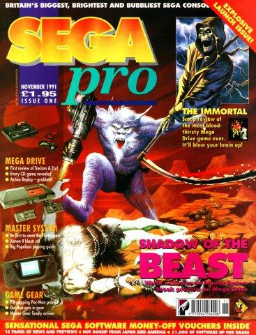 SEGA Pro 01 (November 1991)
