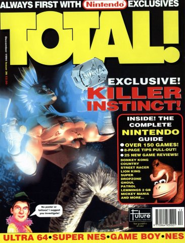 Total! Issue 36 (December 1994)