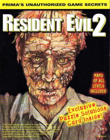 Resident Evil 2 Unauthorized Game Secrets