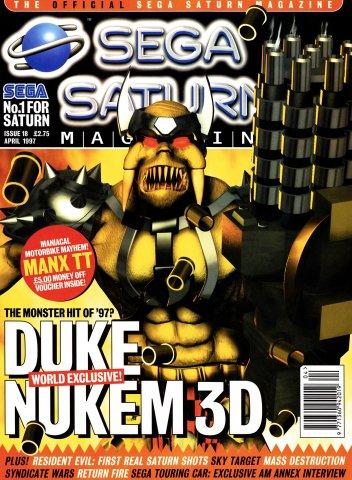Official Sega Saturn Magazine 18 (April 1997)