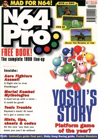 N64 Pro Issue 04 (February 1998)