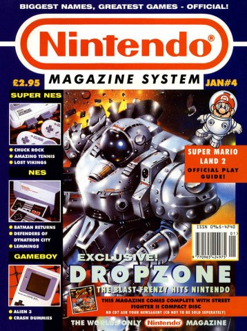 Nintendo Magazine System 004 (January 1993)