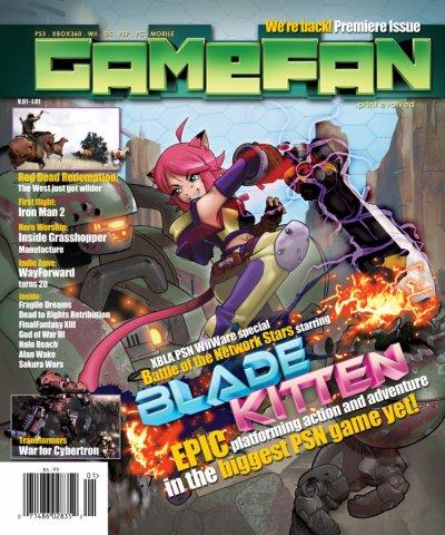 GameFan (2010) Issue 1