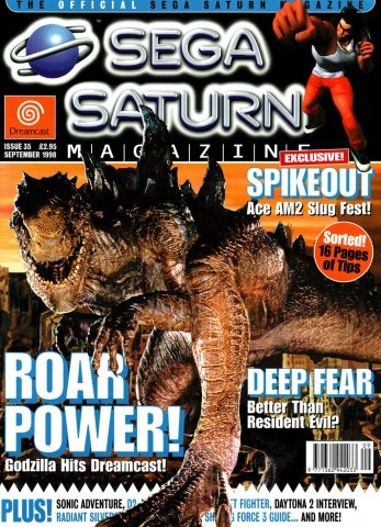 Official Sega Saturn Magazine 35 (September 1998)