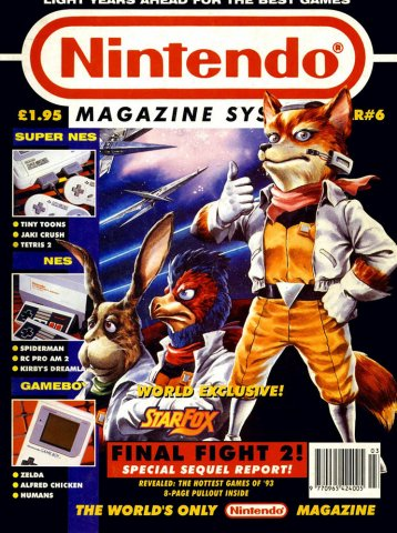 Nintendo Magazine System 006 (March 1993)