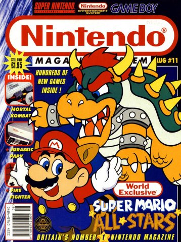 Nintendo Magazine System 011 (August 1993)
