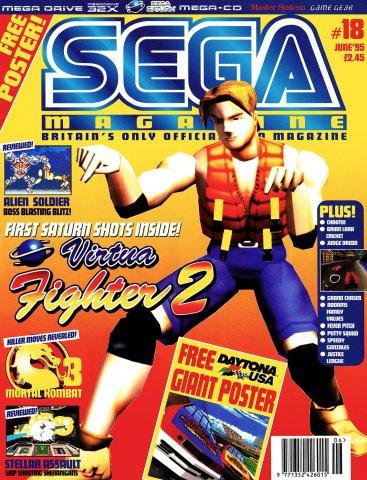 Sega Magazine 18 (June 1995)