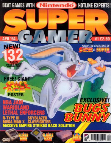 Super Gamer Issue 01 (April 1994)